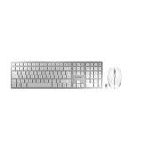 Cherry Desktop DW 9000 [DE] SLIM WL AES wh BT Lithium Akku - wochenlange Nutzung ohne Aufladung